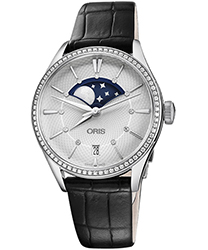 Oris Artelier Ladies Watch Model 01 763 7723 4951-07 5 18 64FC
