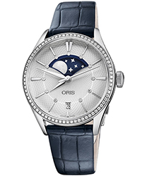 Oris Artelier Ladies Watch Model 01 763 7723 4951-07 5 18 66FC