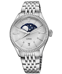 Oris Artelier Ladies Watch Model 01 763 7723 4951-07 8 18 79