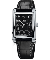Oris Rectangular Ladies Watch Model 56176564034LS