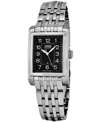 Oris Rectangular Ladies Watch Model 56176564034MB