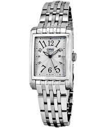 Oris Rectangular Ladies Watch Model 56176564061MB