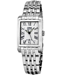 Oris Rectangular Ladies Watch Model 56176564071MB
