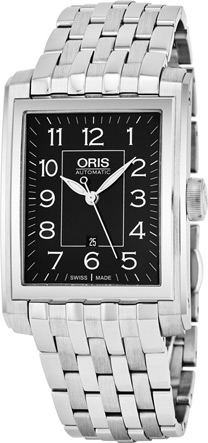 Oris Rectangular Men's Watch Model: 56176574034MB