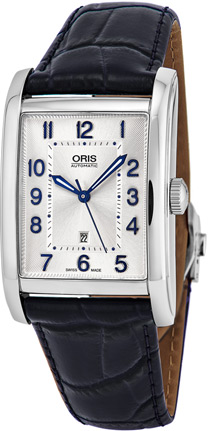Oris Rectangular Ladies Watch Model 56176924031LS