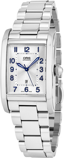 Oris Rectangular Ladies Watch Model: 56176924031MB