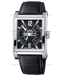 Oris Rectangular   Model: 585.7622.7064.LS
