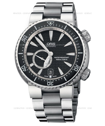 Oris Diver Men's Watch Model 643.7638.74.54.MB