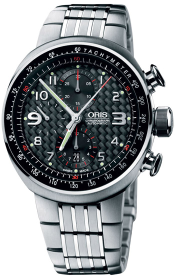 Oris Williams TT3 Chronograph Mens Wristwatch Model: 674.7587.72.64.MB