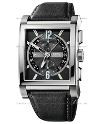 Oris Rectangular   Model: 674.7625.7064.LS