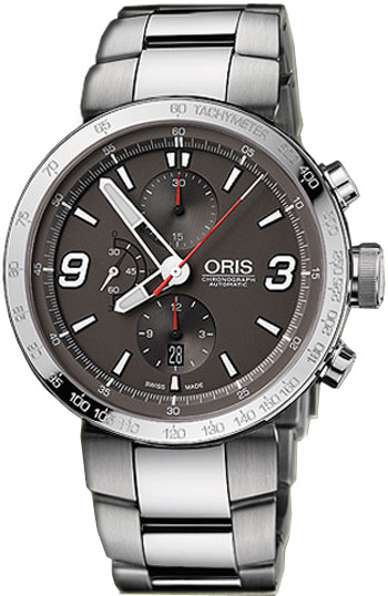 Oris TT1 Chronograph Mens Wristwatch Model: 67476594163MB