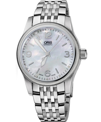 Oris Big Crown Ladies Watch Model 733 7649 4066 MB