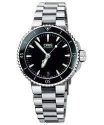 Oris Aquis Ladies Watch Model 733.7652.4154.MB