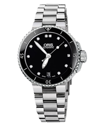 Oris Aquis Ladies Watch Model 733.7652.4194.MB