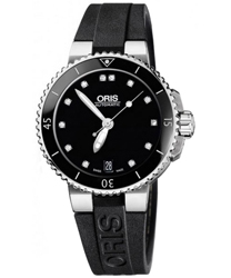 Oris Diver Ladies Watch Model 733.7652.4194.RS