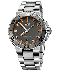 Oris Aquis Men's Watch Model 733.7653.4158.MB