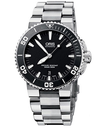 Oris Aquis Men's Watch Model 733.7676.4154.MB