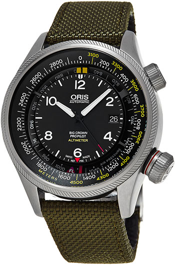 Oris Big Crown Men's Watch Model 733.7705.4164.LS.14