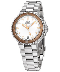 Oris Aquis Ladies Watch Model 73376524356MB