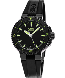 Oris Aquis  Ladies Watch Model 73376524722RS