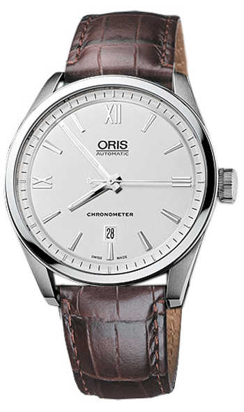 Oris Artix Date Chronometer Mens Wristwatch Model: 737.7642.4071.LS-BR