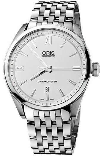 Oris Artix Date Chronometer Mens Wristwatch Model: 737.7642.4071.MB