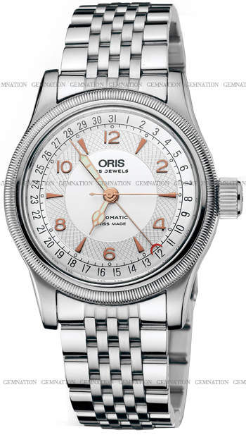 Oris Big Crown Complication Mens Wristwatch Model: 754.7543.40.61.MB