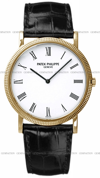 Patek Philippe Calatrava Men's Watch Model 3520DJ