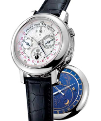 Patek Philippe Sky Moon Mens Wristwatch Model: 5002G