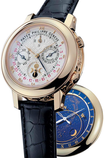 Patek Philippe Sky Moon Tourbillon Mens Wristwatch Model: 5002J