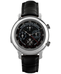 Patek Philippe Sky Moon Mens Wristwatch Model: 5002P-010