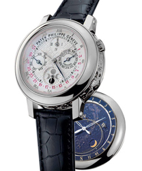 Patek Philippe Sky Moon Mens Wristwatch Model: 5002P