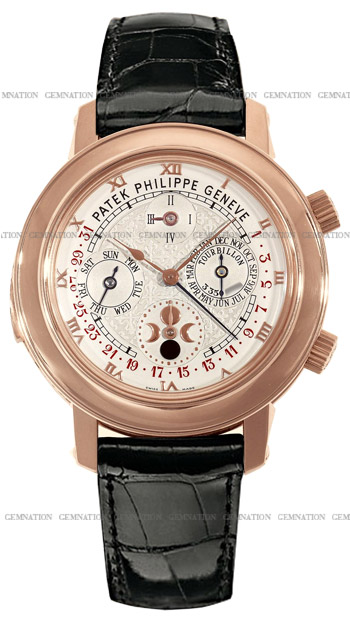Patek Philippe Sky Moon Tourbillon Mens Wristwatch Model: 5002R