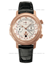 Patek Philippe Sky Moon Mens Wristwatch Model: 5002R