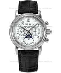 Patek Philippe Split Seconds Chronograph Mens Wristwatch Model: 5004G