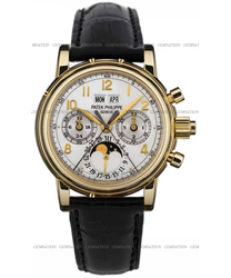 Patek Philippe Split Seconds Chronograph Mens Wristwatch Model: 5004J