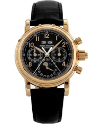 Patek Philippe Split Seconds Chronograph Men's Watch Model: 5004R-BL