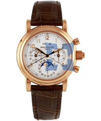 Patek Philippe Split Seconds Chronograph Men's Watch Model 5004R