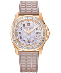 Patek Philippe Aquanaut Luce Haute Joaillerie Ladies Watch Model 5072R