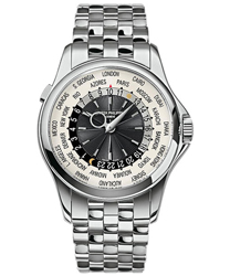 Patek Philippe World Time Mens Wristwatch