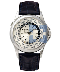 Patek Philippe World Time Mens Watch Model 5130G