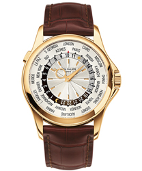 Patek Philippe World Time Mens Watch Model 5130J-001