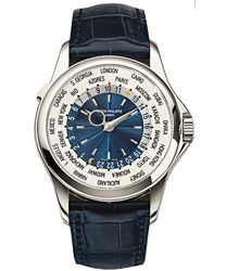 Patek Philippe World Time Mens Watch Model 5130P