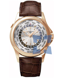 Patek Philippe World Time Mens Watch Model 5130R