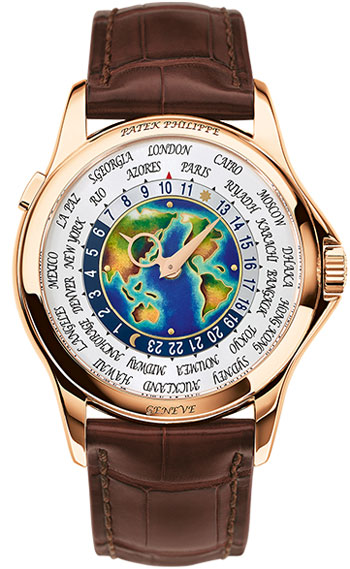 Patek Philippe World Time Mens Watch Model 5131R