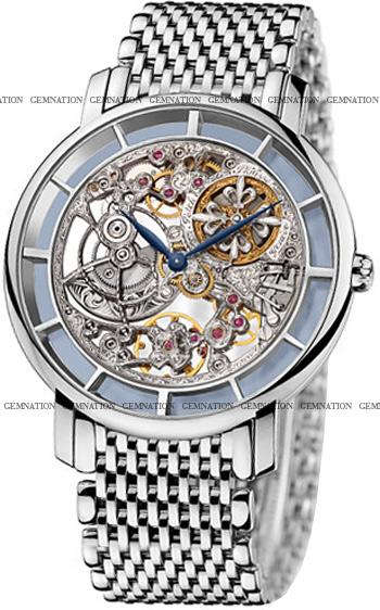 Patek philippe complicated skeleton men 39 s watch model 5180 1g 001 for Patek philippe skeleton