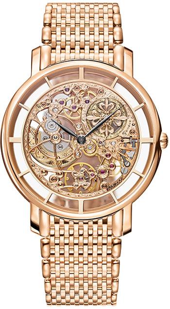 Patek philippe complicated skeleton men 39 s watch model 5180 1r 001 for Patek philippe skeleton