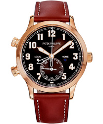 Patek Philippe Calatrava Pilot Travel Time Men's Watch Model: 5524R-001