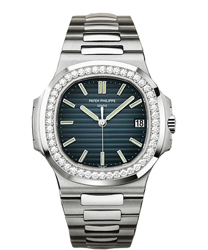 Patek Philippe Nautilus Mens Wristwatch Model: 5713-1G