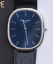 Patek Philippe Golden Ellipse Pre-Owned Mint Like New With New Extra PP Strap   Model: 5738P